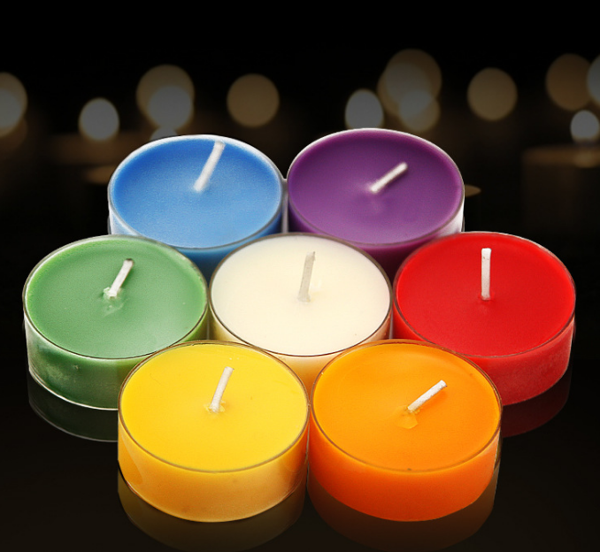 Smokeless scented tealight candles